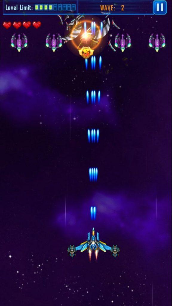 Galaxy-Sky Shooting Graphics